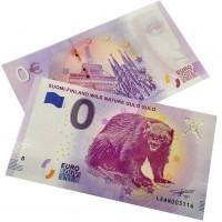 EIRO Suvenīrbanknote - 0 Nulle Eiro