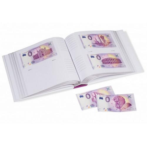 """Suvenīrbanknošu """"0 EIRO"""" albums"""