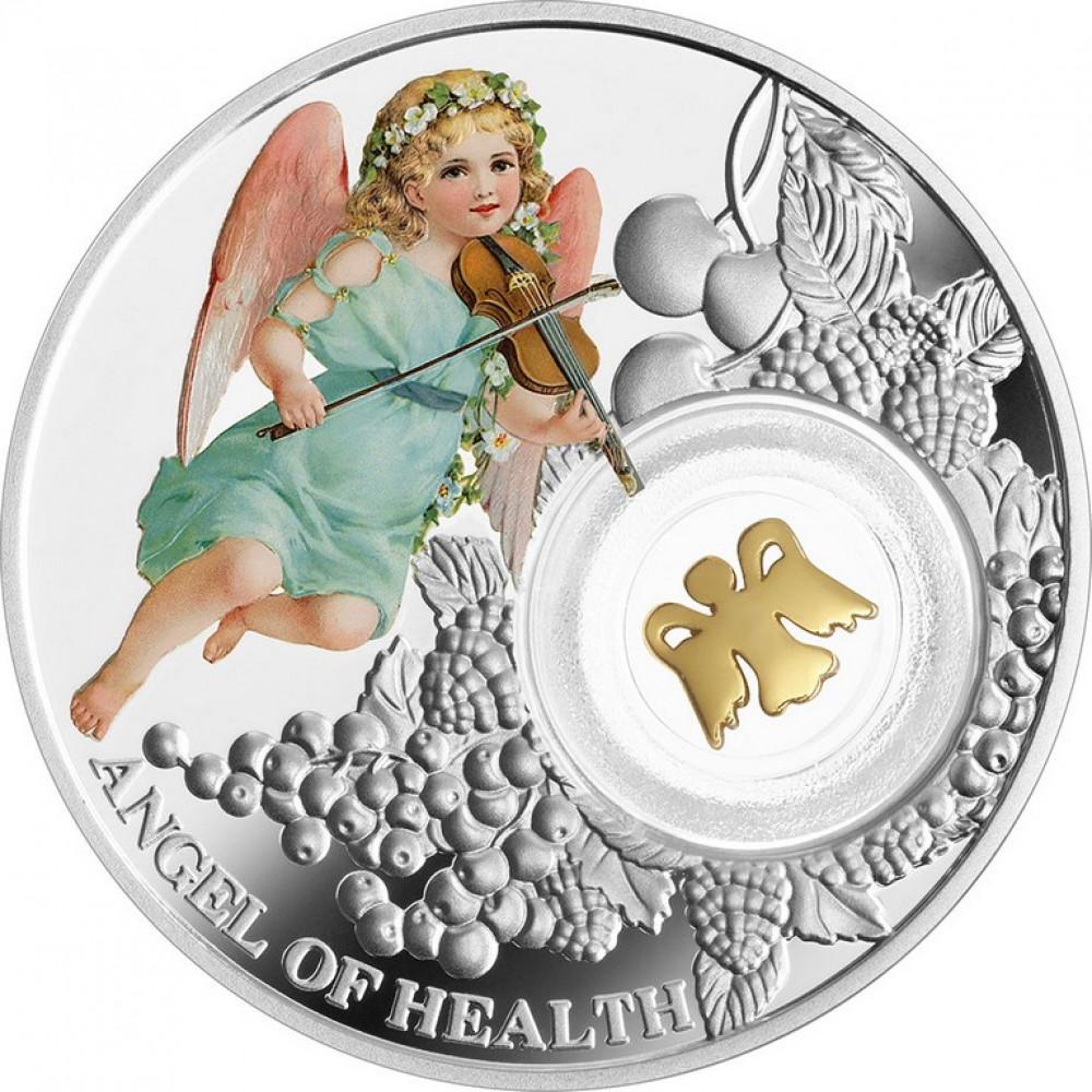 Sudraba Monēta - Veselības Eņģelis 14,14 g, 999