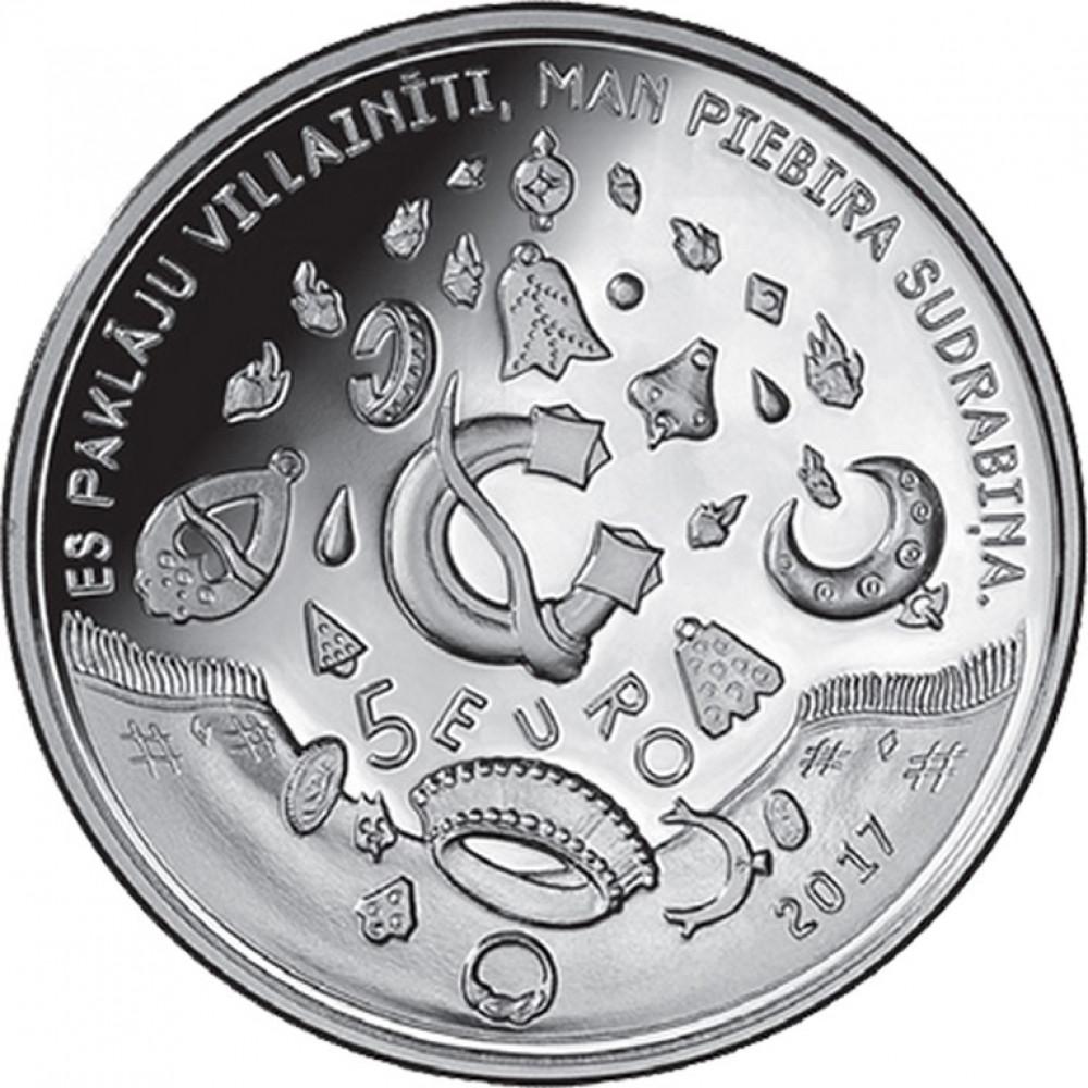 Latvijas Bankas monēta - Kalējs kala debesīs, 31 g, 925