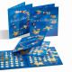 Monētu Albums PRESSO II - eiro monētu kolekcijai