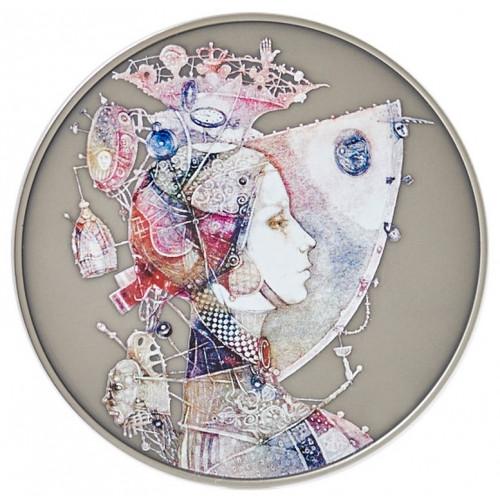 Sudraba Medaļa Sievietei ar individuālu gravējumu 33.62 g, 925