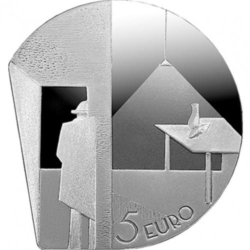 Latvijas Bankas kolekcijas monēta - Niklāvs Strunke 20 g, 925