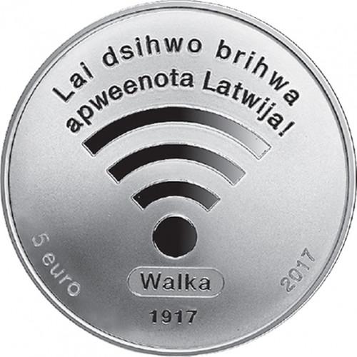 Latvijas Bankas monēta - LPNP 1. sesija, 31.47 g, 925