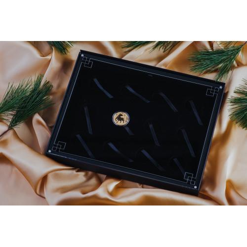 Kastīte Austrālijas Lunāru III sērijas 12x1 unces monētām