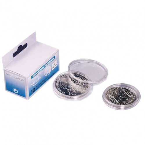 Monētu kapsula 14-41 mm (1 gab.)
