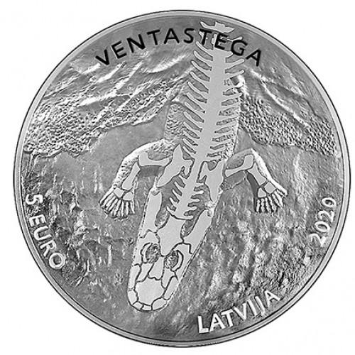 Latvijas Bankas kolekcijas monēta - Ventastega - 22g, 925
