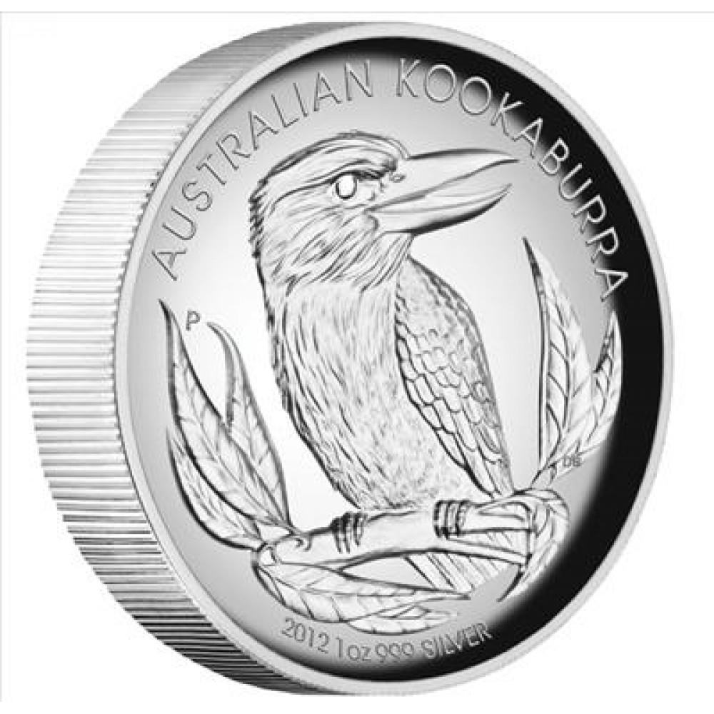 Sudraba Dāvanu Monēta - Austrālijas Kukaburra 2012 1 Oz, 999