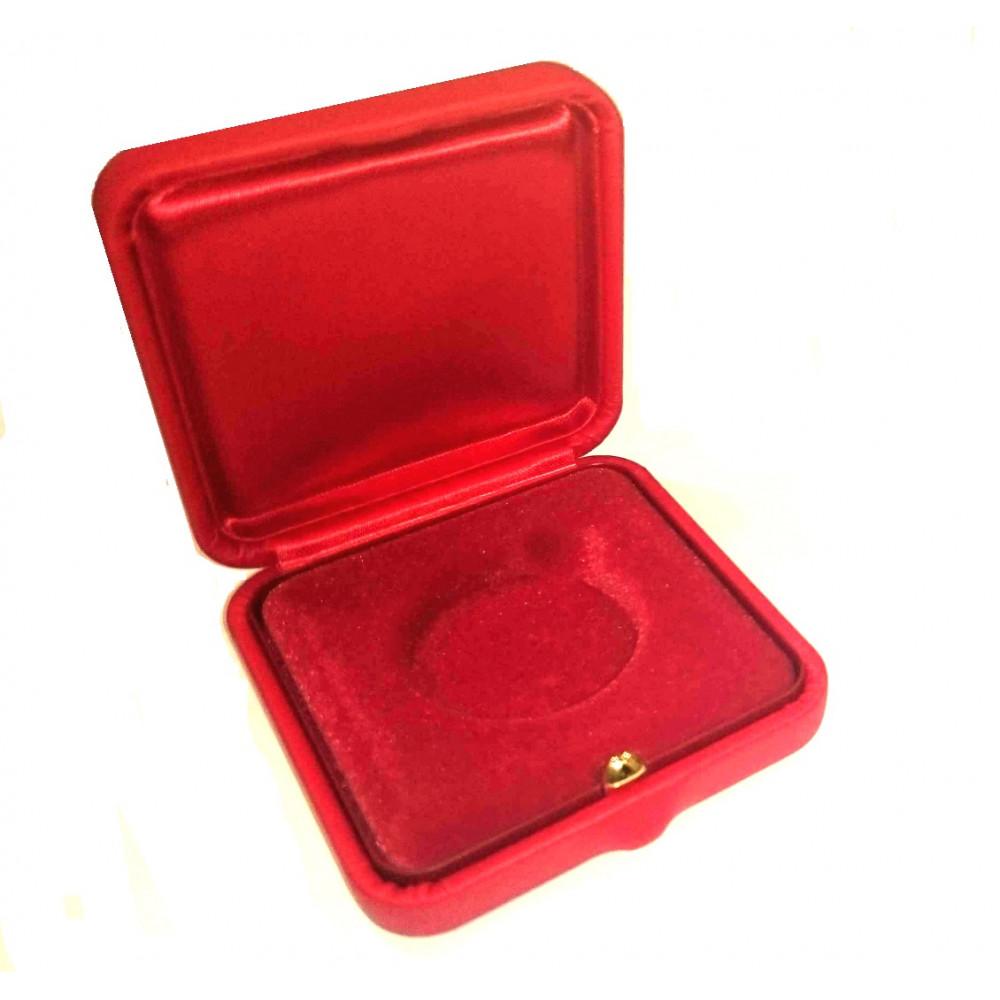 Universāla Dāvanu monētu Kastīte (Sarkanā krāsā)