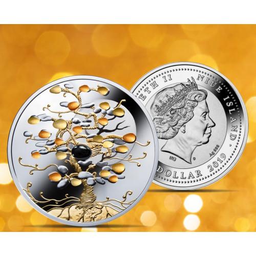 Sudraba Monēta - Laimes Koks 1 Oz, 999