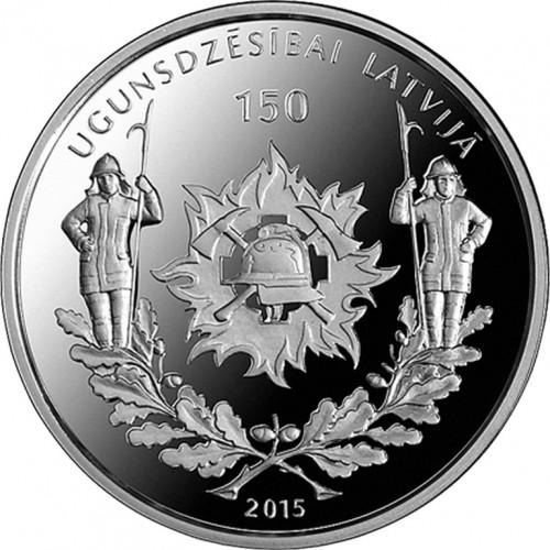 Sudraba Kolekcijas Monēta - Ugunsdzēsībai Latvijā 150 - 22,00 g, 925