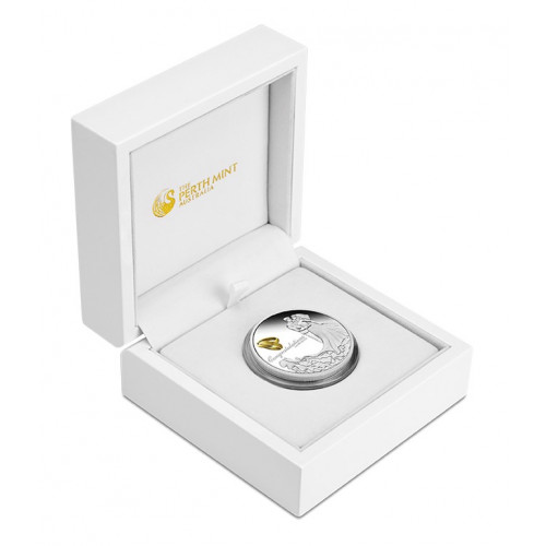 Dāvana Kāzās - Sudraba Monēta - Apsveicam - 1 Oz, 999