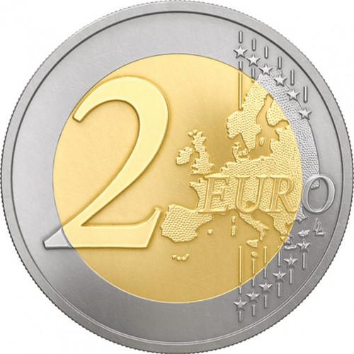 Latvijas 2 Eiro piemiņas monēta - Latvijas Prezidentūra ES Padomē 2015