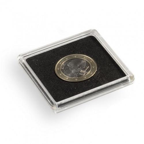 Kvadrātveida Monētu kapsula QUADRUM 22 mm (1 gab.)