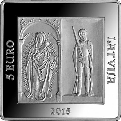 Sudraba Kolekcijas Monēta - Rīgas pilij 500 - 26,00 g, 925