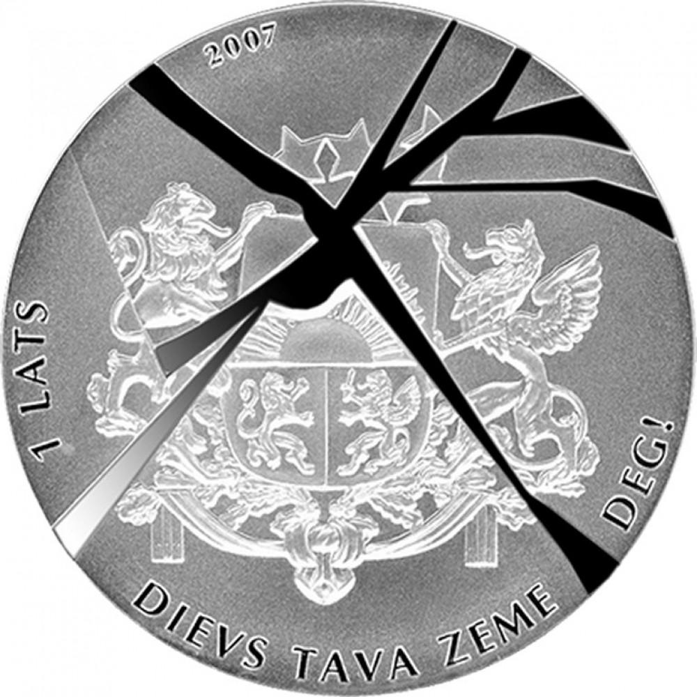 Sudraba Monēta - Svešas Varas - 31,47 g, 925
