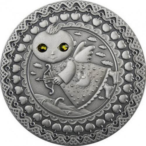 Dāvana dzimšanas dienā - Sudraba Monēta - Horoskops - Strēlnieks (23.novembris-21.decembris) 28,28 g, 925