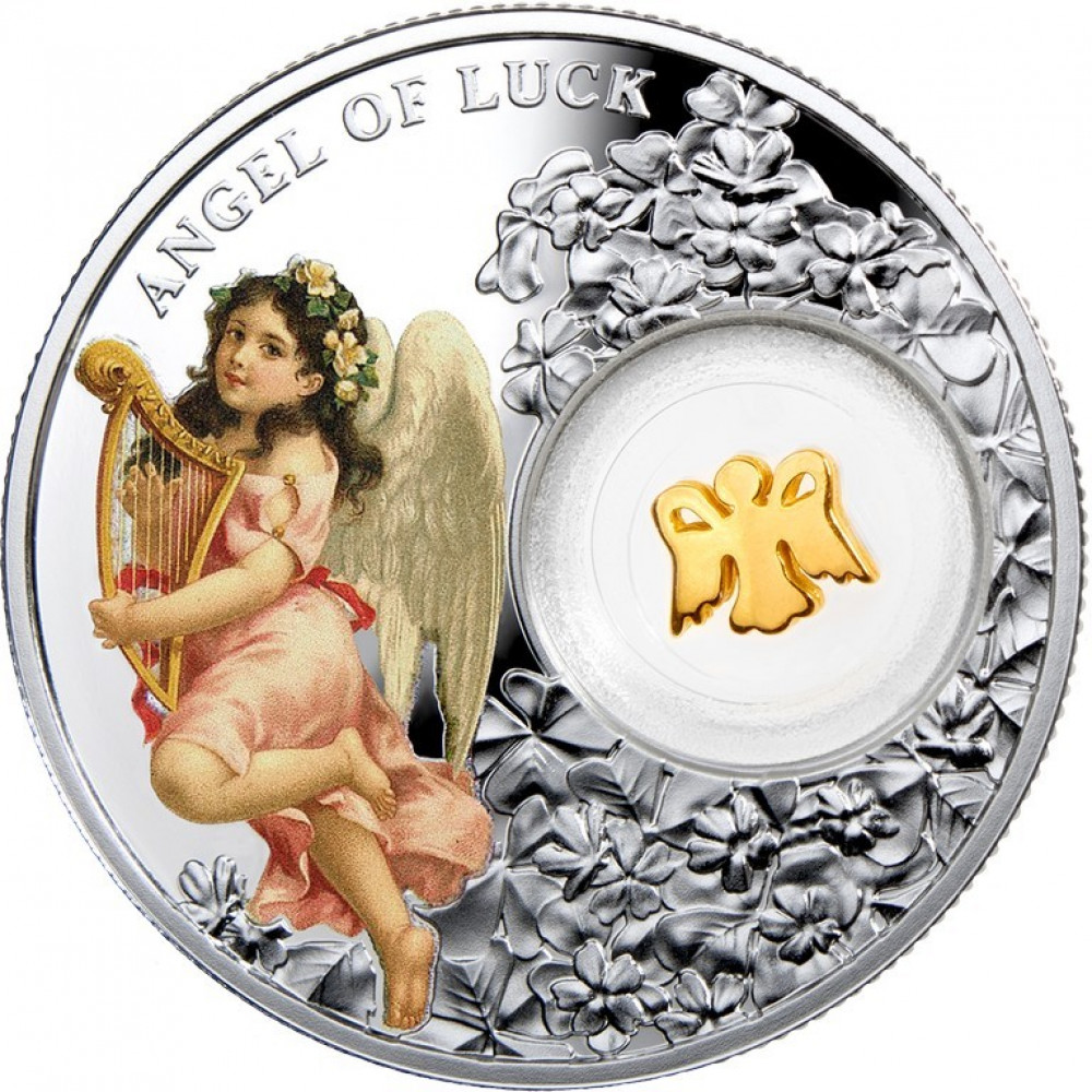 Sudraba Monēta - Veiksmes Eņģelis 14,14 g, 999