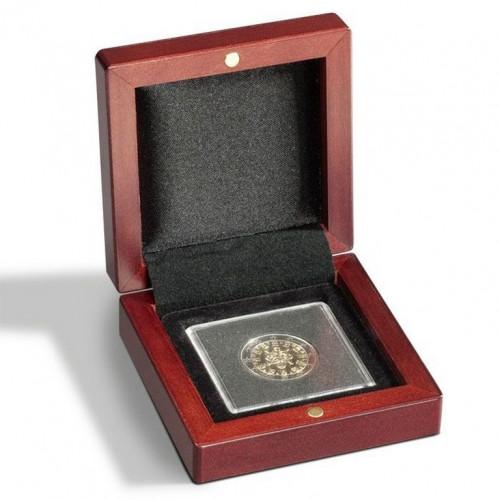 Sarkankoka monētu kastīte VOLTERRA (QUADRUM kapsulai)