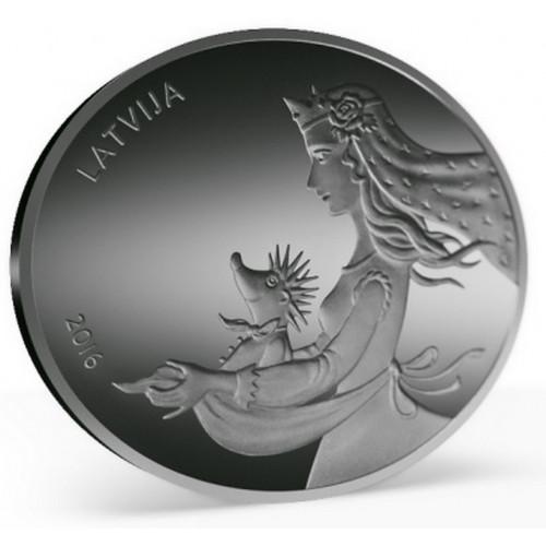 Sudraba Monēta - Pasaku monēta II. Eža kažociņš - 28,28 g, 925