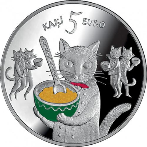 Sudraba Monēta - Pasaku monēta I. Pieci kaķi - 31,47 g, 925