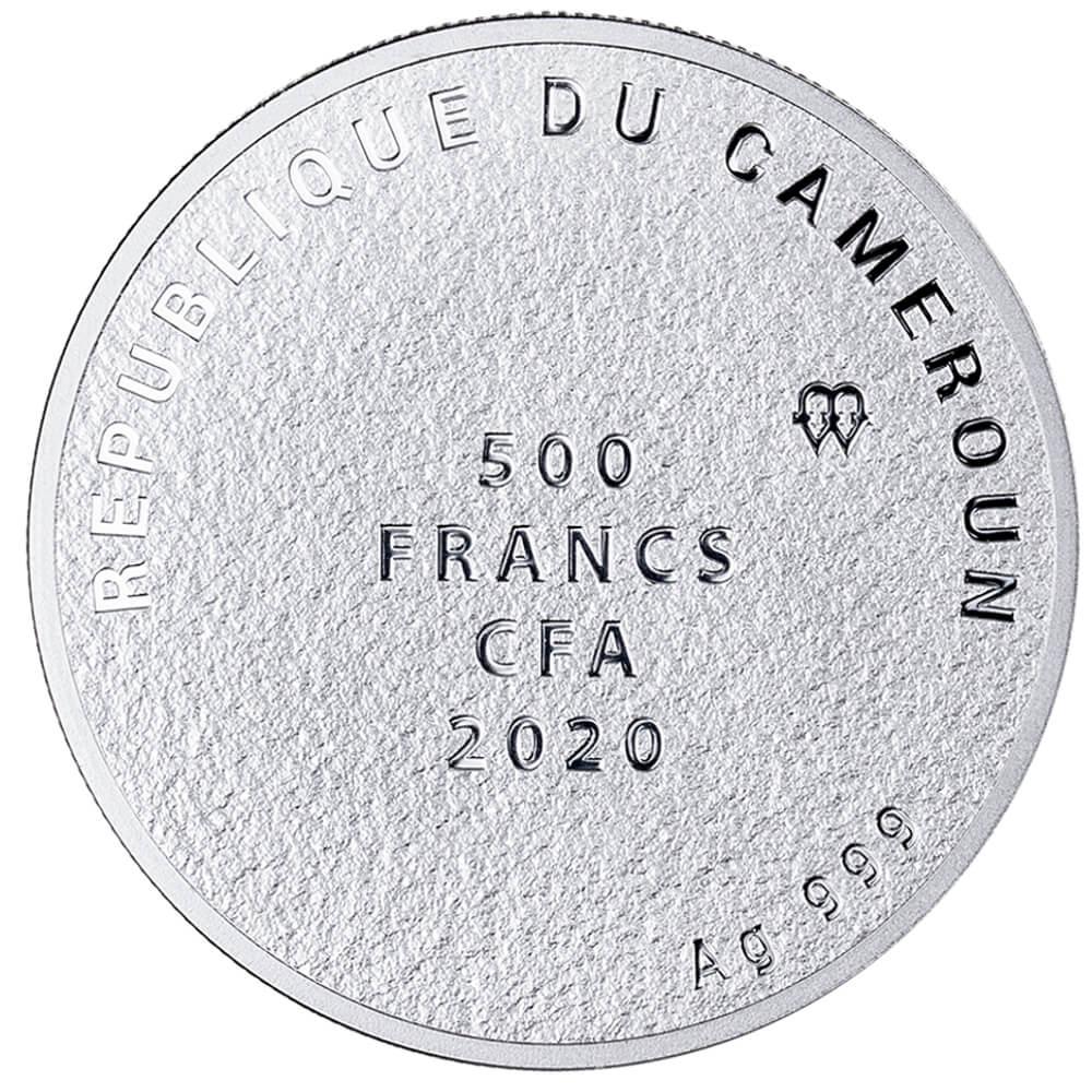 Sudraba veiksmes monēta - Novēlējumu koks - 10 g, 999