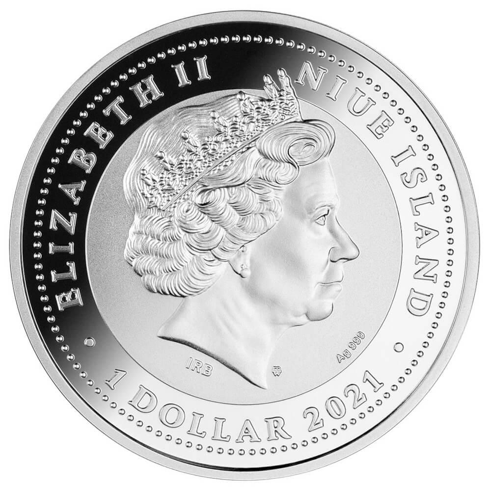 Sudraba Monēta - Laimes Koks - Ametists 1 Oz, 999
