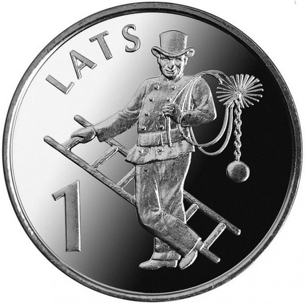 1 Lata Jubilejas Monētas