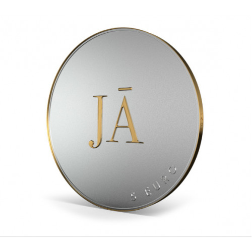 Latvijas Bankas kolekcijas monēta - JĀ vai JĀ - 15g, 925