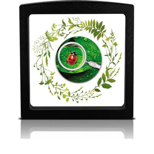 Sudraba Monēta - Slepenais dārzs - Bizmārīte 17,50 g, 999