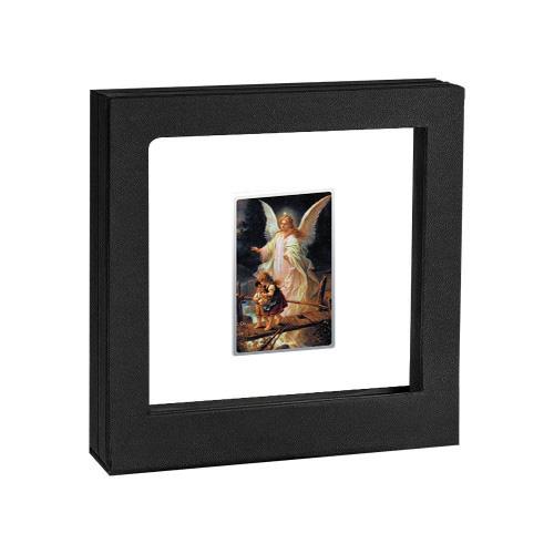 Sudraba Monēta - Glezna - Sargeņģelis 17,50 g, 999