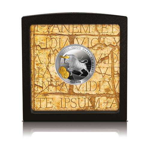 Sudraba Monēta - Vērsis - 17,50 g, 999