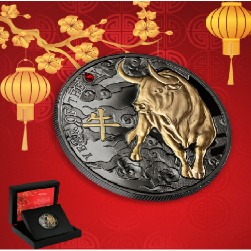 Sudraba Monēta - Vērša gads - 10g, 999